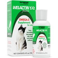 Nutramax Welactin Feline Omega-3 Cat Liquid Supplement