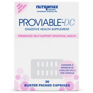 Nutramax Proviable-DC Capsules Dog & Cat Supplement, 30 count