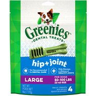Greenies Hip & Joint Care Large Dental Dog Treats, 4 count