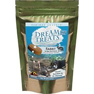 Wysong Dream Rabbit Freeze-Dried Raw Dog & Cat Treats, 4.9-oz bag