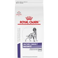 Royal Canin Veterinary Diet Mature Consult Dry Dog Food, 19.8-lb bag
