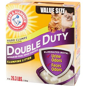 Arm & Hammer Litter Double Duty Scented Clumping Clay Cat Litter