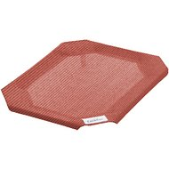 Coolaroo Replacement Cover for Steel-Framed Elevated Pet Bed, Terracotta, Small