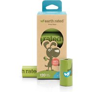 Earth Rated PoopBags Refill Pack, Unscented, 120