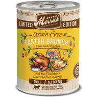 Merrick Seasonal Grain-Free Easter Brunch Recipe Canned Dog Food, 12.7-oz, case of 12