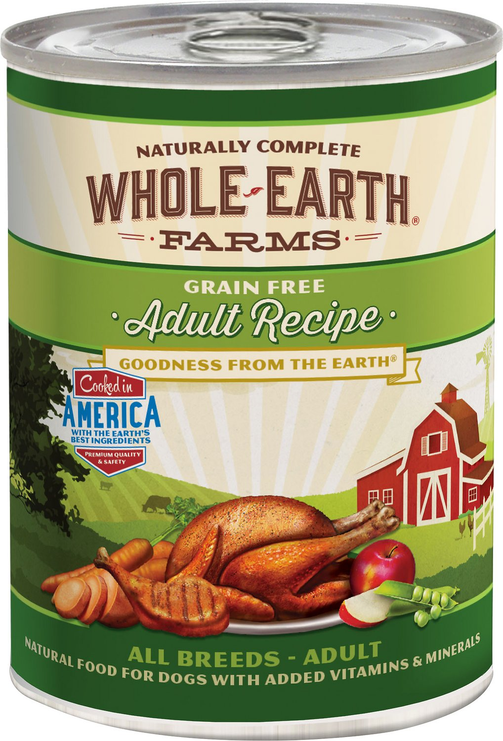 Whole Earth Canned Cat Food