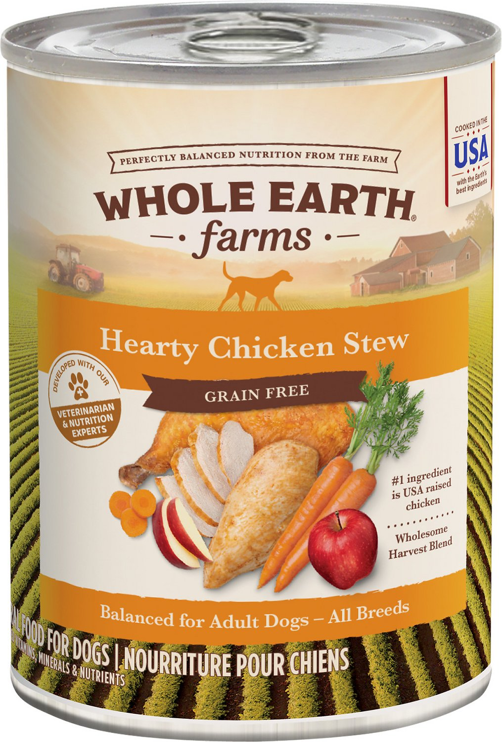 Whole Earth Canned Dog Food
