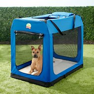 GoPetClub Soft Portable Pet Carrier, Blue, 48-in