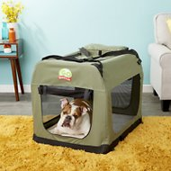 GoPetClub Soft Portable Pet Carrier, Sage, 32-inch