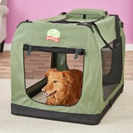 GoPetClub Soft Portable Pet Carrier, Sage, 40-in