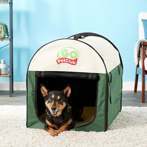 Go Pet Club Single Door Collapsible Soft-Sided Dog Crate