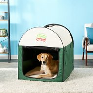 GoPetClub Soft Portable Pet Home, Green, 38-in
