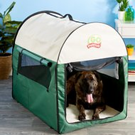 GoPetClub Soft Portable Pet Home, Green, 42-in