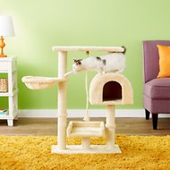 GoPetClub 36-inch Cat Tree, Beige