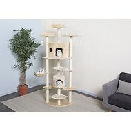 GoPetClub 80-in Cat Tree, Beige