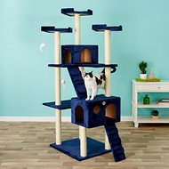 GoPetClub 72-in Cat Tree, Blue