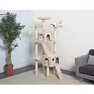 GoPetClub 72-in Cat Tree, Beige