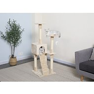 GoPetClub 52-in Cat Tree, Beige