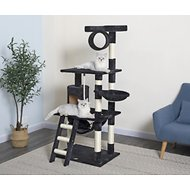 GoPetClub 62-in Cat Tree, Black