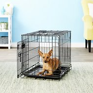 Precision Pet Products Great Crate Double Door Dog Crate, Small