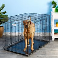 Precision Pet Products Provalu Double Door Dog Crate, Large