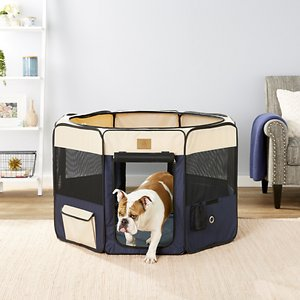 Precision Pet Products Soft-Sided Dog & Cat Playpen By Precision Pet Products