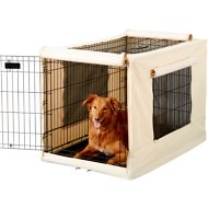 Precision Pet Products Indoor/Outdoor Crate Cover, Large