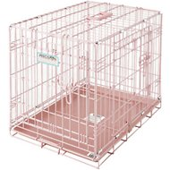 Precision Pet Products SnooZZy Baby Wire Crate, Pink, 24-in pink crate