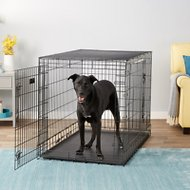 MidWest Ultima Pro Double Door Dog Crate, 48-in