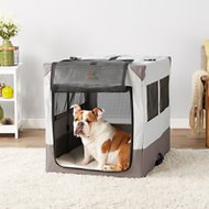 MidWest Canine Camper Sportable Tent Dog Crate, 42-in