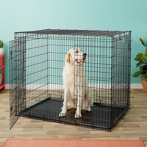 MidWest Solutions Series XX-Large Heavy Duty Double Door Collapsible Wire Dog Crate