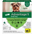 Advantage II Flea Spot Treatment for Dogs, 3-10 lbs