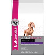 Eukanuba Breed Specific Dachshund Adult Dry Dog Food, 3-lb bag