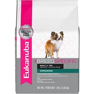 Eukanuba Breed Specific Chihuahua Adult Dry Dog Food, 3-lb bag