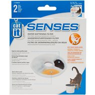 Catit Design Senses Water Softening Filters, 2-count