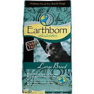 Earthborn Holistic Grain-Free Large Breed Dry Dog Food, 28-lb bag