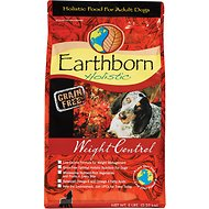 Earthborn Holistic Weight Control Grain-Free Dry Dog Food, 5-lb bag