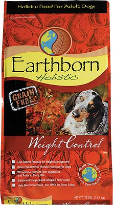6. Earthborn Holistic Weight Control Grain-Free Dry Dog Food