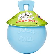 Jolly Pets Tug-n-Toss Dog Toy, Blueberry, 4.5-in