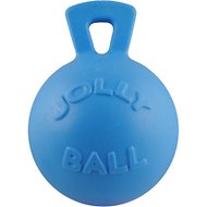 Jolly Pets Tug-n-Toss Dog Toy, Blueberry, 8-in