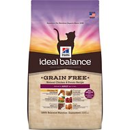 Hill's Ideal Balance Grain-Free Natural Chicken & Potato Recipe Adult Dry Cat Food, 6-lb bag