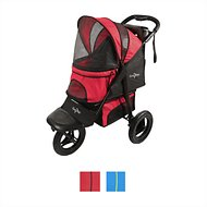 Gen7Pets Jogger Pet Stroller, Pathfinder Red