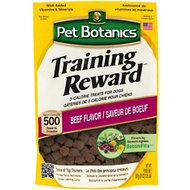 Pet Botanics Training Rewards Beef Flavor Dog Treats, 20-oz bag