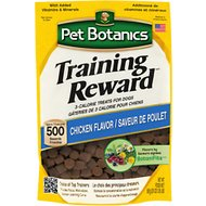 Pet Botanics Training Rewards Chicken Flavor Dog Treats, 20-oz bag