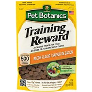 Pet Botanics Training Rewards Bacon Flavor Dog Treats, 20-oz bag