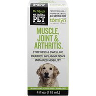 Tomlyn Natural Pet Pharmaceuticals Muscle, Joint & Arthritis Homeopathic Dog Supplement, 4-oz bottle