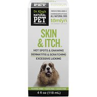 Tomlyn Natural Pet Pharmaceuticals Skin & Itch Homeopathic Dog Supplement, 4-oz bottle