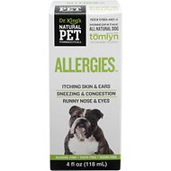 Tomlyn Natural Pet Pharmaceuticals Allergies Homeopathic Dog Supplement, 4-oz bottle