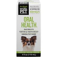 Tomlyn Natural Pet Pharmaceuticals Oral Health Homeopathic Dog Supplement, 4-oz bottle
