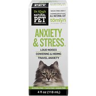 Tomlyn Natural Pet Pharmaceuticals Anxiety & Stress Homeopathic Cat Supplement, 4-oz bottle